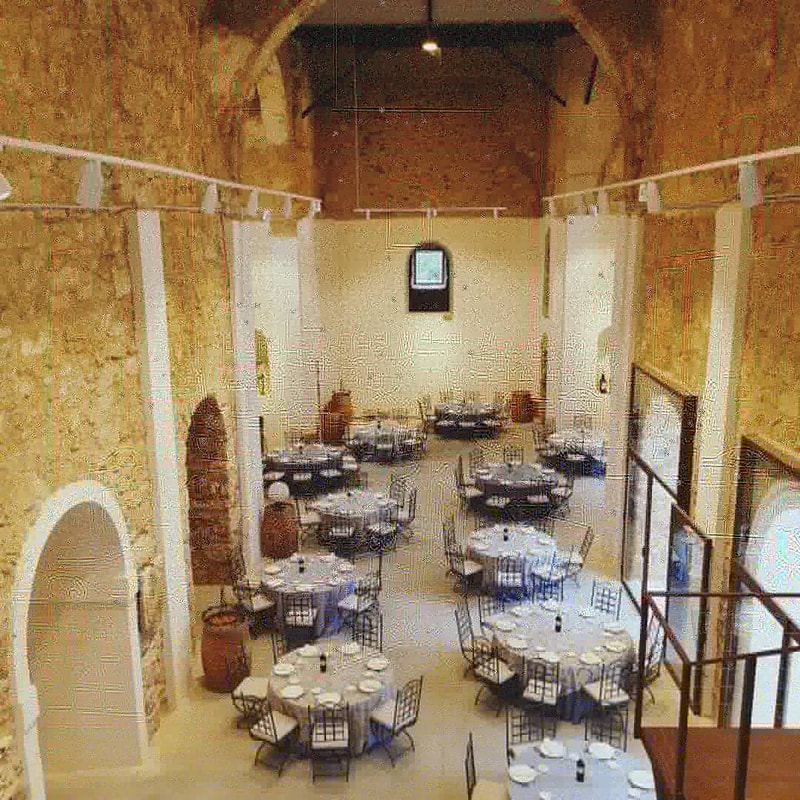 MARIAGE / CATERING LUXE ESPAGNE COUVENT CHATEAU WEDDING PLANNER